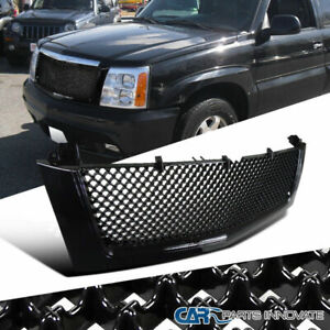 mesh grille for 02 06 cadillac escalade honeycomb front bumper black hood grill ebay 详情 mesh grille for 02 06 cadillac escalade honeycomb front bumper black hood grill