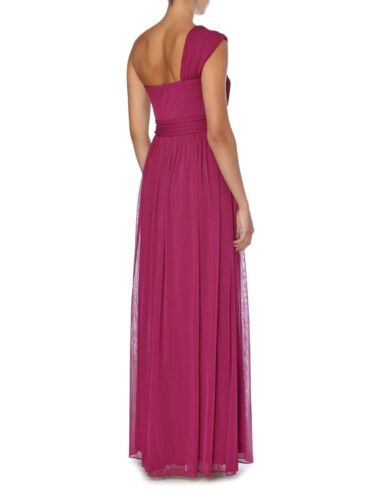 Bnwt Maxi Dress £170 10 Berry Size Bridesmaid Rrp Clearance Js Collection PwqUOU