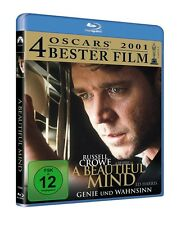 PAUL/CONNELLY,JENNIFER/CROWE,RUSSELL BETTANY-A BEAUTIFUL MIND BLU-RAY NEU