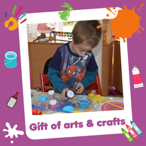 Helen and Douglas House Charity Gift THE GIFT OF ARTS AND CRAFTS £10