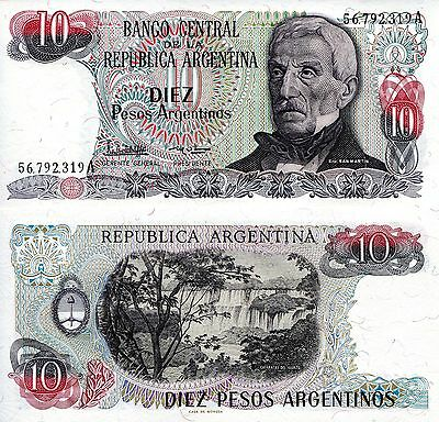ARGENTINA 50 Pesos Banknote World Paper Money UNC Currency Pick p314 Note Bill