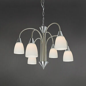 WOFI-lampara-colgante-LED-CASA-6-luces-cromo-niquel-Cristal-Blanco-30-vatios