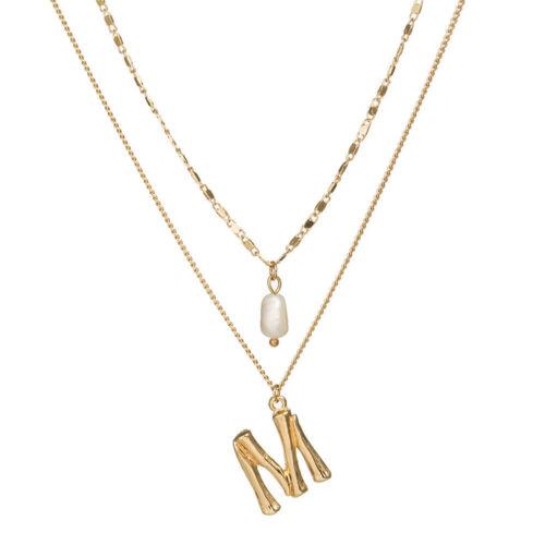 Boho Women Multi-layer Long Chain Pendant Crystal Choker Necklace Jewelry Gift