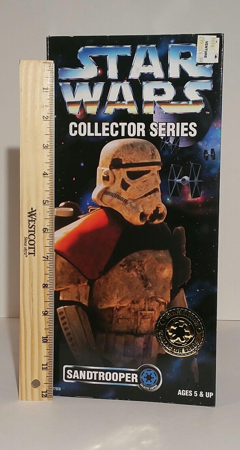 Star Wars Sandtrooper orange Shoulder Collector Series 12 in 1996 MIB