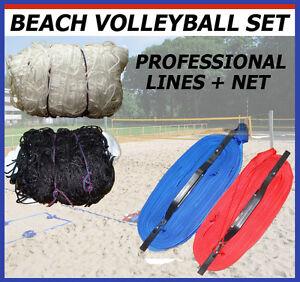 Ensemble pour volley lignes et filet-professionnel volley-terrain marqueur