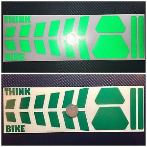 ... 4 Reflective Helmet Stickers Rectangular - 3M Scotchlite (comply with  French law)