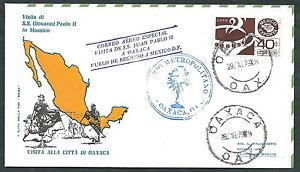 1979 Vaticano Viaggi Del Papa Messico Oaxaca - Rm1
