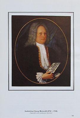 STADTRICHTER GEORG REINWALD Baden bei Wien Österreich Reprint Druck art print