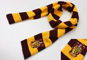 HARRY-POTTER-SCIARPA-SCARF-GRIFONDORO-GRYFFINDOR-SERPEVERDE-COSPLAY-SLYTHERIN-2