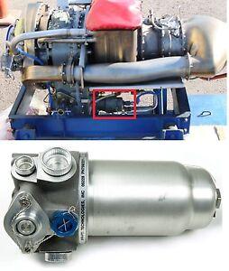 allison rolls royce m250 t63 engine 7592221-101 fuel filter bypass assy pti  tech