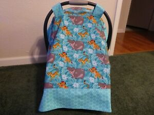 Lion King Baby Car Seat Canopy Cover Ebay