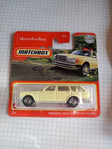 OVP /& NEU Matchbox Mercedes-Benz S123 Station Wagon Serie Mercedes-Benz 53//100