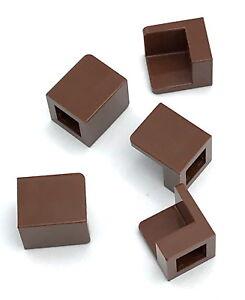 Lego-5-New-Reddish-Brown-Panels-1-x-1-x-1-Corner-Pieces