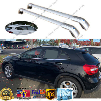 For Mercedes Benz GLA 2014-2018 Top Roof Rack Cross Bar Crossbar Luggage Carrier