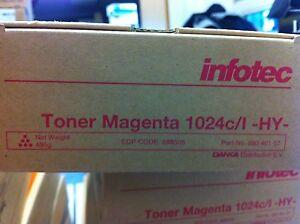 ORIGINALE-INFOTEC-888505-TONER-Magenta-Rosso-per-1024-C-L-HY-89040157-a-Ware