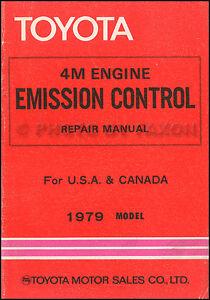 1979 toyota cressida emission control repair shop manual. Black Bedroom Furniture Sets. Home Design Ideas