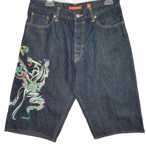 Ed Hardy by Christian Augier Short Men's Size 34 M