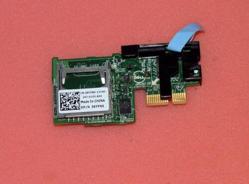 NEW Dell R720 R620 R720xd Dual SD Card Module Reader 6YFN5 06YFN5