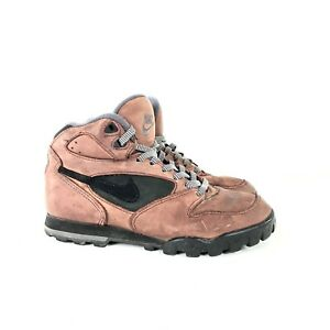 quality design b7db0 4d62e Image is loading Vintage-Nike-1992-Brown-Green-Hiking-Boots-Shoes-