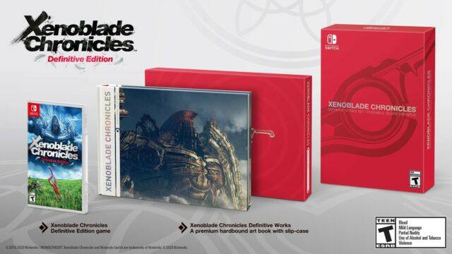 XENOBLADE Chronicles Definitive Works Set Collector's Edition - Nintendo Switch