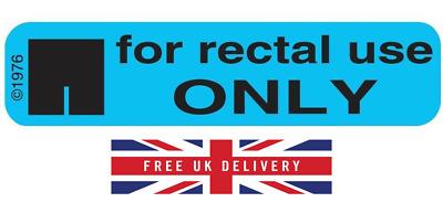 - Fast despatch 40 Joke For Rectal Use Only Reddit Prank Stickers