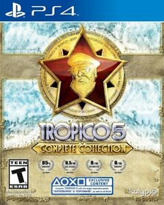 Tropico-5-Complete-Edition-For-Sony-PlayStation-4-PS4-Brand-New-Factory-Sealed