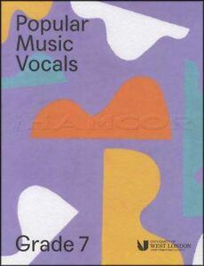 CompéTent Musique Populaire Chant Grade 7 London College Of Music Lcm Chantant Examen Livre-afficher Le Titre D'origine AgréAble En ArrièRe-GoûT