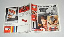 LEGO SYSTEM CATALOGO Assortimento 1967 Catalog Katalog Catalogue