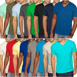 06f0a97d75b1 Next Level Mens Premium Fitted Sueded V Neck Tee T Shirt XS-2XL 6440 ...