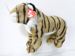 Classic-Ty-Beanie-Dash-the-Tiger-7432-Soft-Plush-Toy-1999-NEW-WITH-TAG