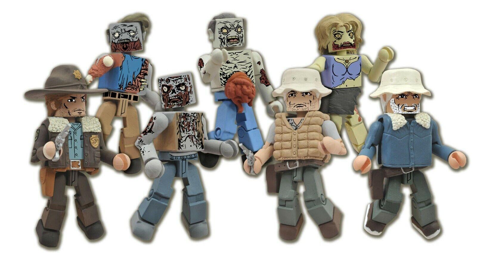 Walking Dead Serie 1 Minimates De 12 Caja Precintada