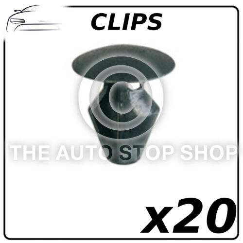 11337 Pack de 20 Scenic II partie nombre Clips de fermeture 5,2 mm Renault Megane CC