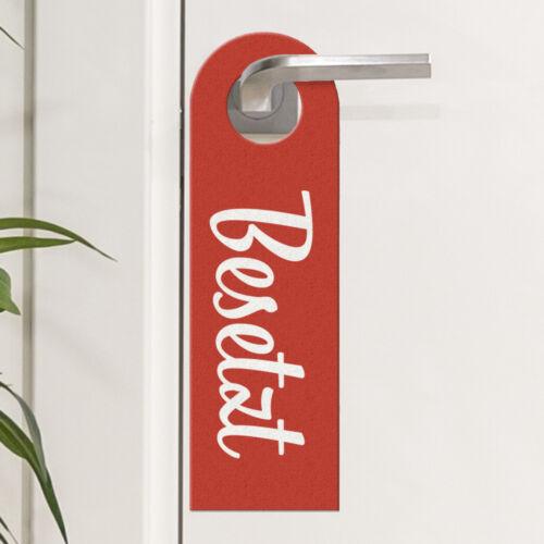 Türhänger Toilette Türanhänger WC Türschild Klo Badezimmer Frei Besetzt