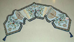 Festival Of Lights Hanukkah Menorah Judaism Tapestry