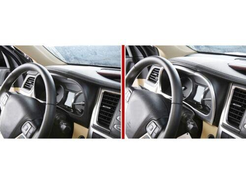 For Toyota Highlander 2015 2016 2017 Interior Dashboard Meter Frame Cover Trim