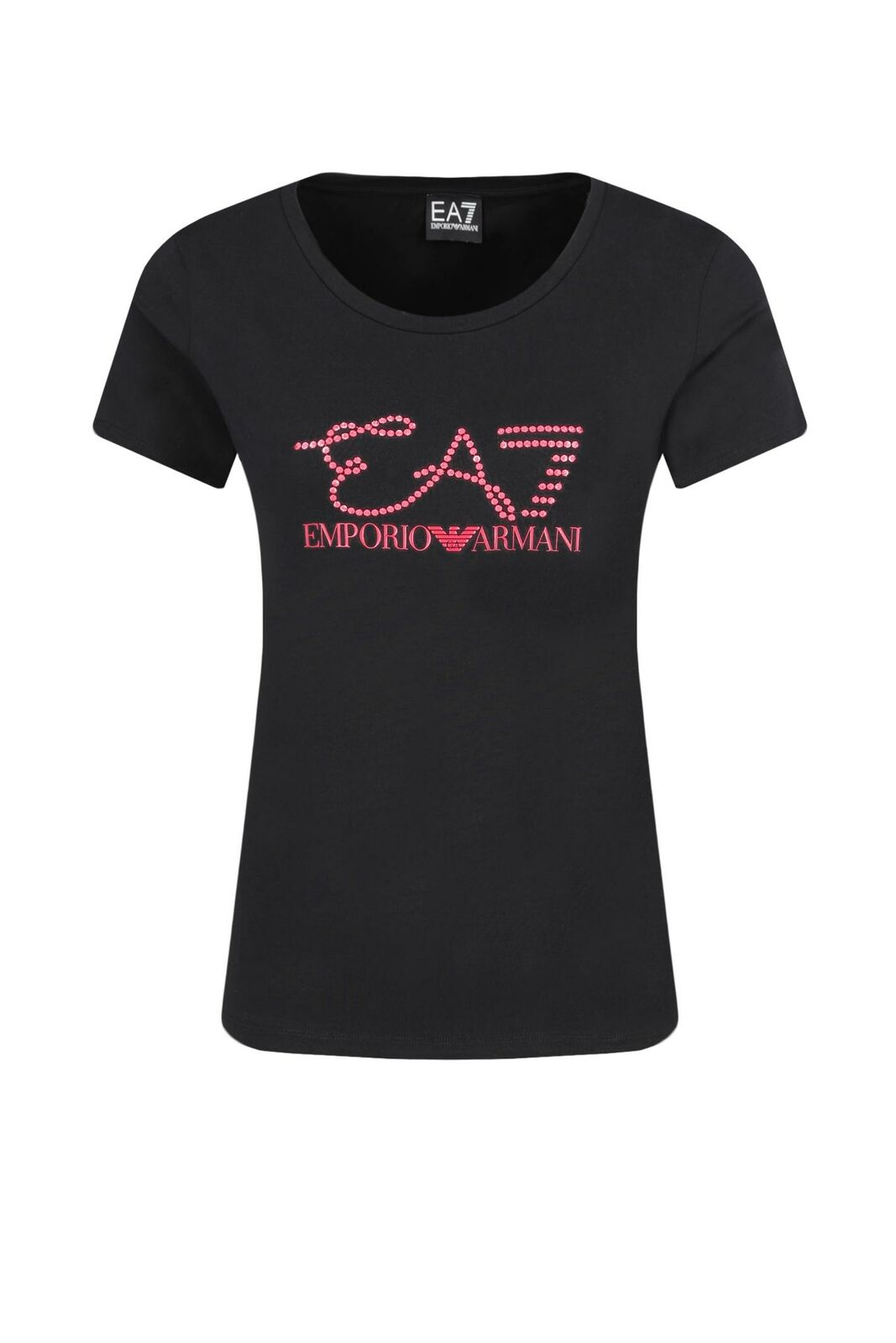 EA7 Emporio Armani 7 - T-Shirt damen schwarz Logo Maglia Slim