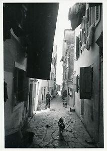 Courageux Corfou C. 1937 - Petite Rue Grèce - Div 9195