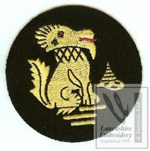 Details about New Lancashire Embroidery Chindits Blazer Badge