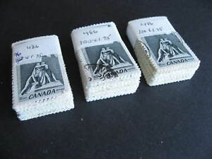 Canada-wholesale-15c-Vimy-Sc-486-295-used-stamps-in-bundles-check-them-out