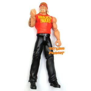 WCW-WWE-WWF-Hulk-Hogan-Hall-of-Famer-Wrestling-Action-Figure-Kid-Mattel-Toy