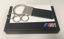BMW M Carbon Fiber Keychain OEM Key Fob 80272410929