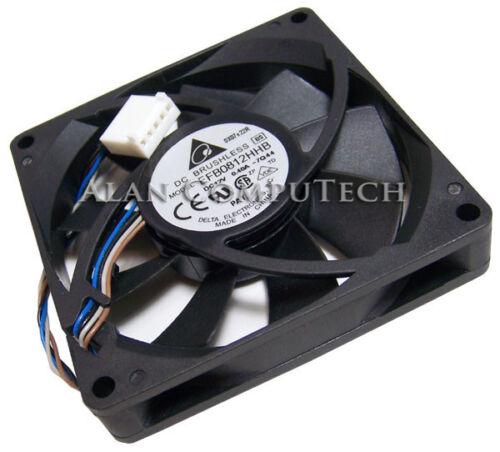 HP 12v DC 0.40a 80x15mm 5Pin 4-Wire Fan EFB0812HHB-7Q44 5-Pin Brushless New Bulk