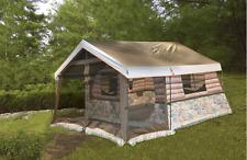 Timber Ridge 8 Man Outdoor Camping Hunting Fishing Waterproof Log Cabin Tent New