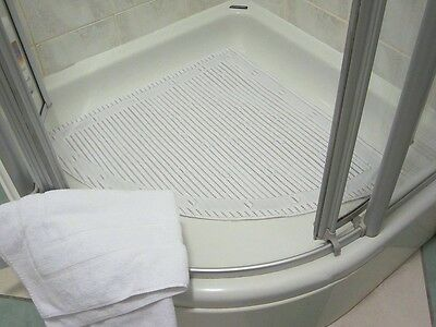 Isagi Antimicrobial Slip Resistant Square Shower Mat