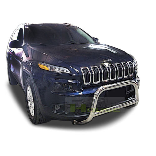 Broadfeet A-Bar Front Bumper Guard For 2014-2018 Jeep Cherokee Without Tow Hooks