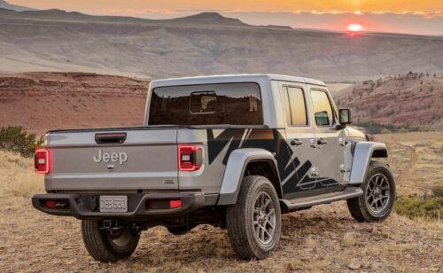 stripe Side kit decals for Jeep Gladiator Graphics Kit