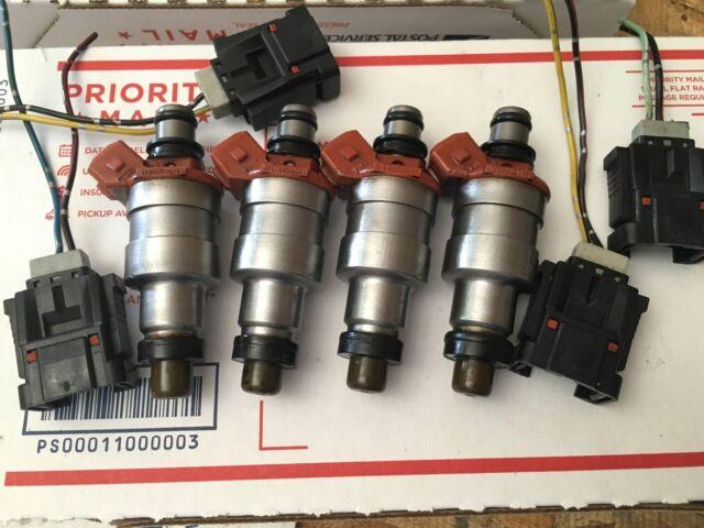 MAZDA Rx7 Low Impedance 460cc Fuel Injectors Injector Set OEM 195500-1350