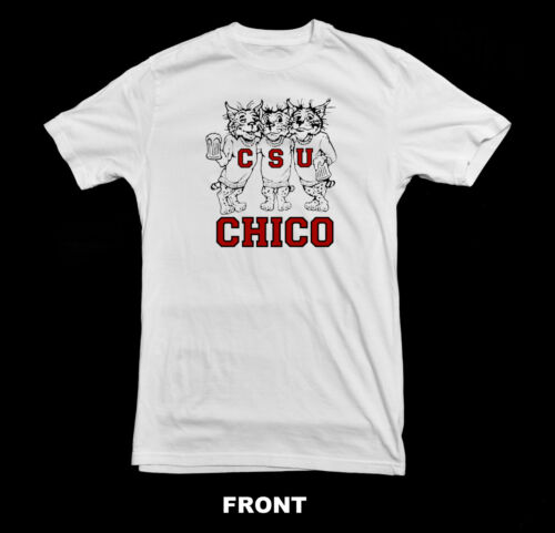 Chico State Vintage T-Shirt1980/'s Chico State Wildcats Drinking T Shirt