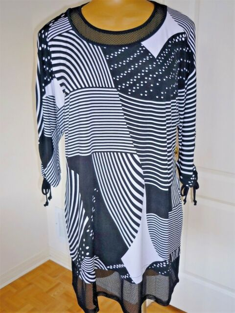 NWT Artex Fasions md in Canada 3/4 kimono sleeves long tunic sz 1X 20W