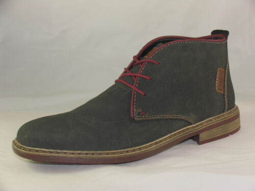 Mens Rieker F1210 Casual Lace-up Ankle Boots